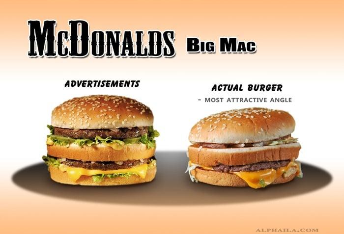 McDonalds BigMac 1