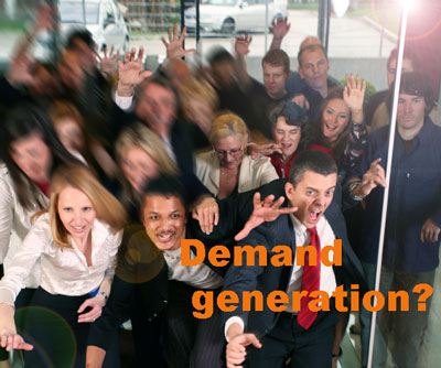 Is demand generation in control?