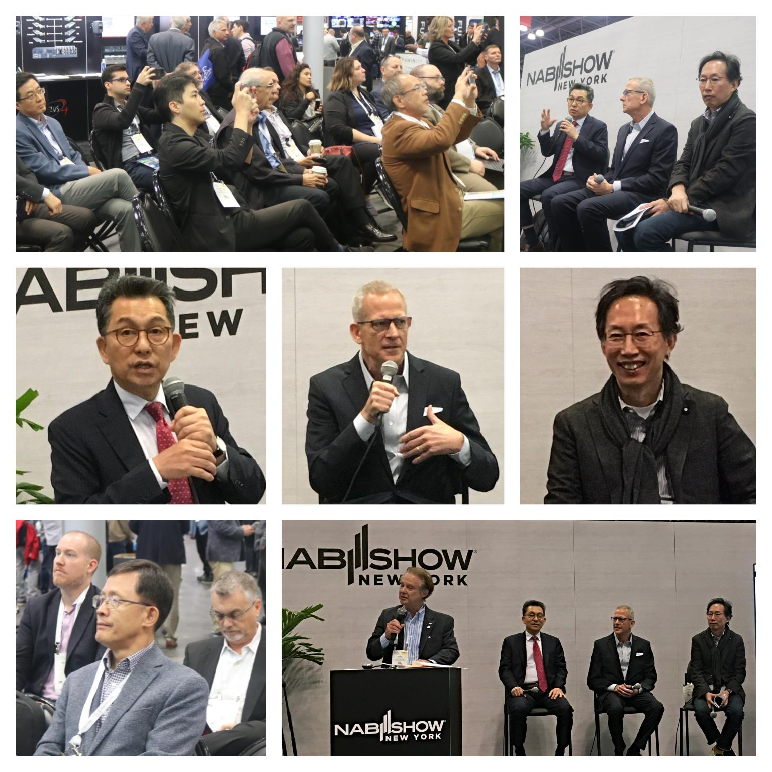 NAB NY Launch of the ATSC 3 Korean EAS