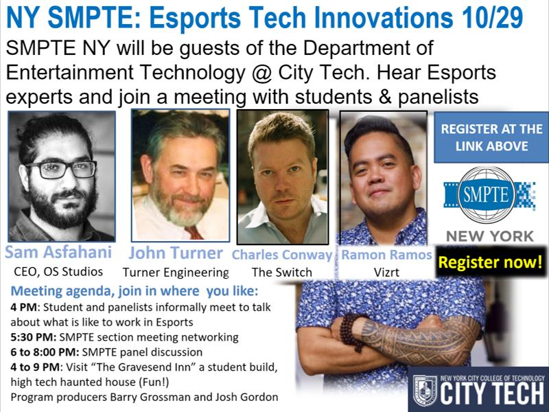 October SMPTE ESports